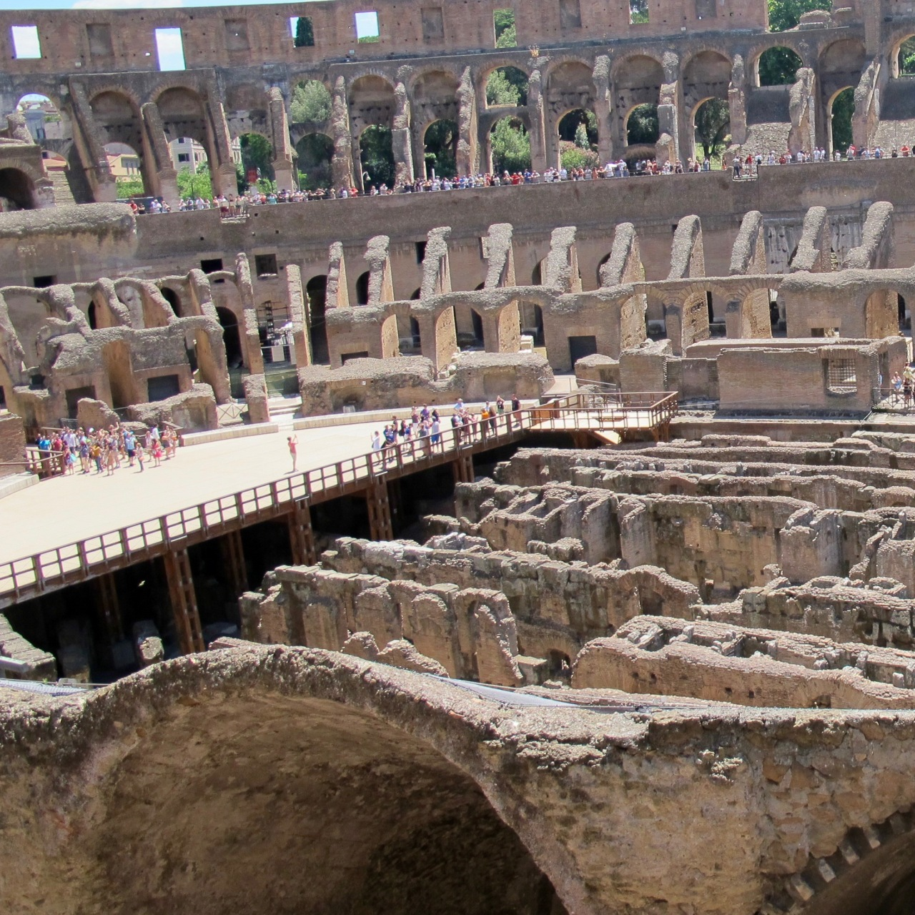 Colosseumfloor